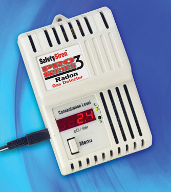 Pro Series III Radon Gas Detector